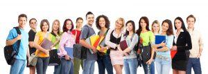 alumnos del Centro de formacion internacional reina isabel