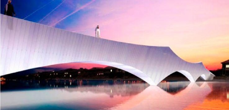 Alberto Sanjurjo Álvarez y su Puente Origami