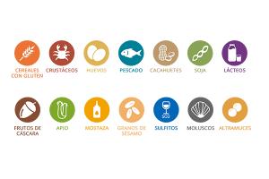 Ocioneo información sobre alérgenos alimentarios en restaurantes HORECA
