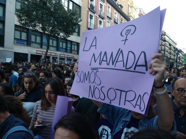 vozpopuli informa de las protestas contra la sentencia del caso la manada