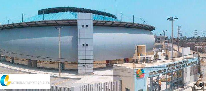 Eurofinsa: Coliseo cerrado de Barranca