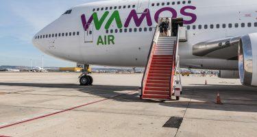 Viajes de largo recorrido con Wamos Air