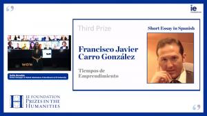 Francisco Javier Carro González y su obra Tiempos de emprendimiento