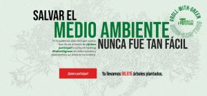 Smoking Paper y el proyecto Trees for the Future